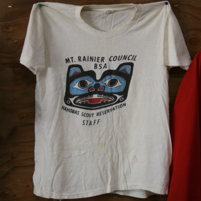 Camp Hahobas Staff T-Shirt - 1974