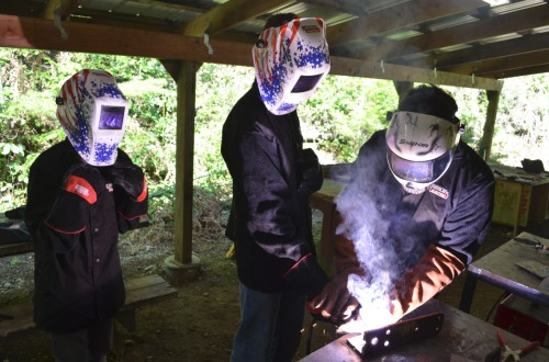 Click to find out more about Welding Merit Badge Program at Camp Hahobas